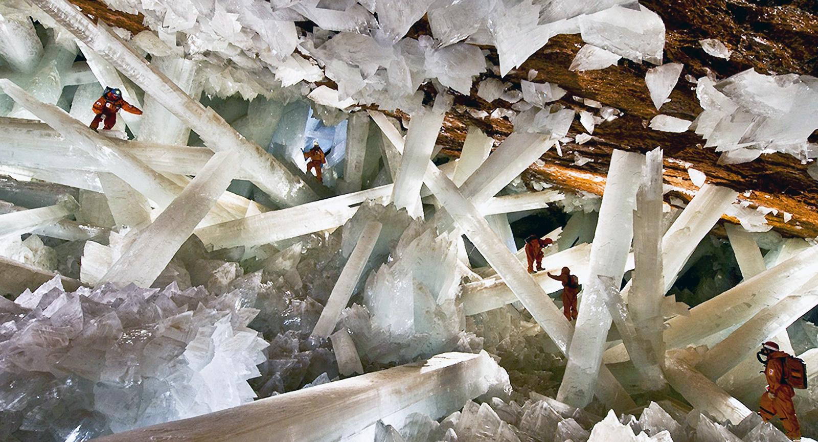 Naica Crystal Caves - Chihuahua México