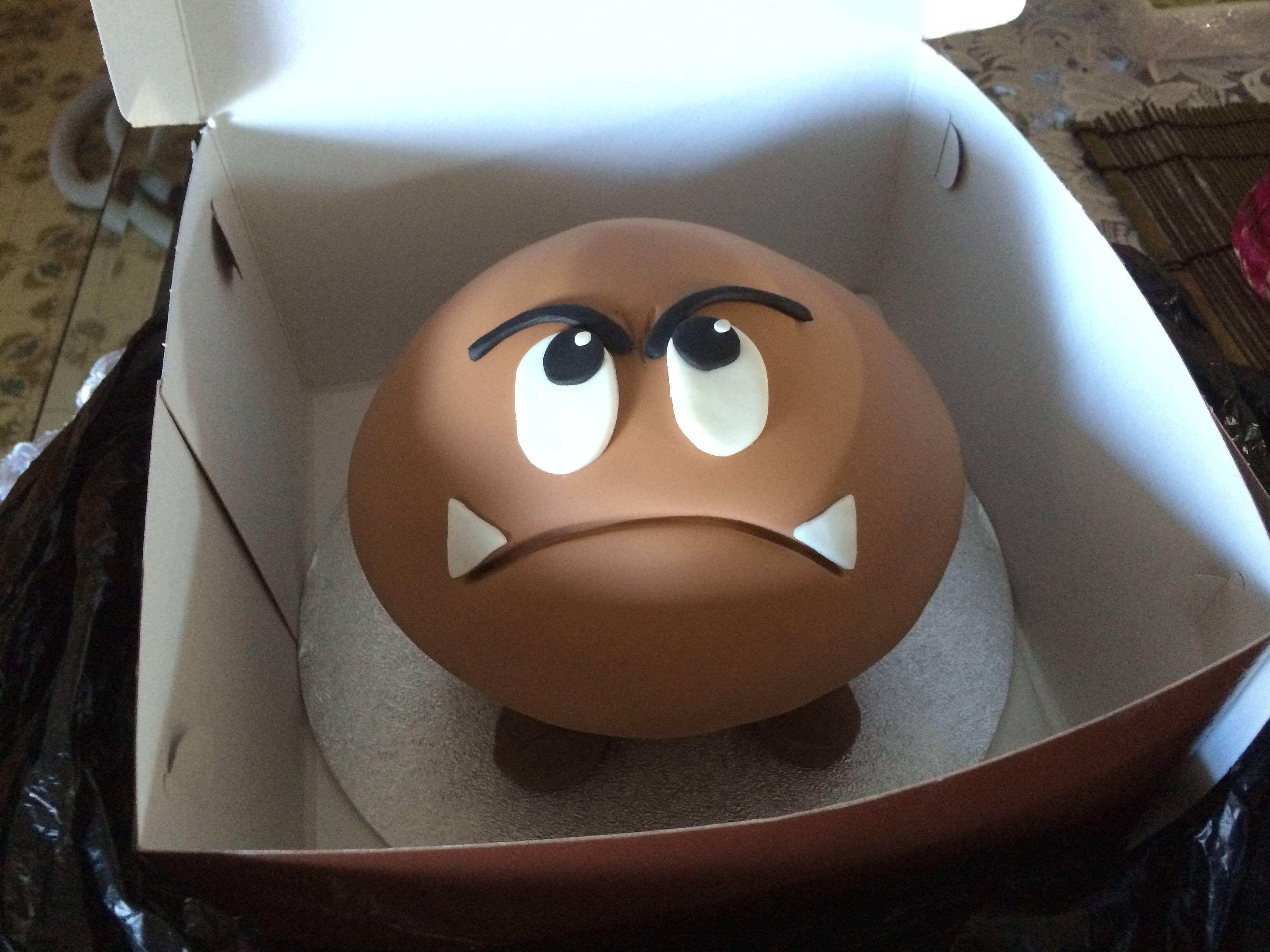 goomba cake mario brothers cake