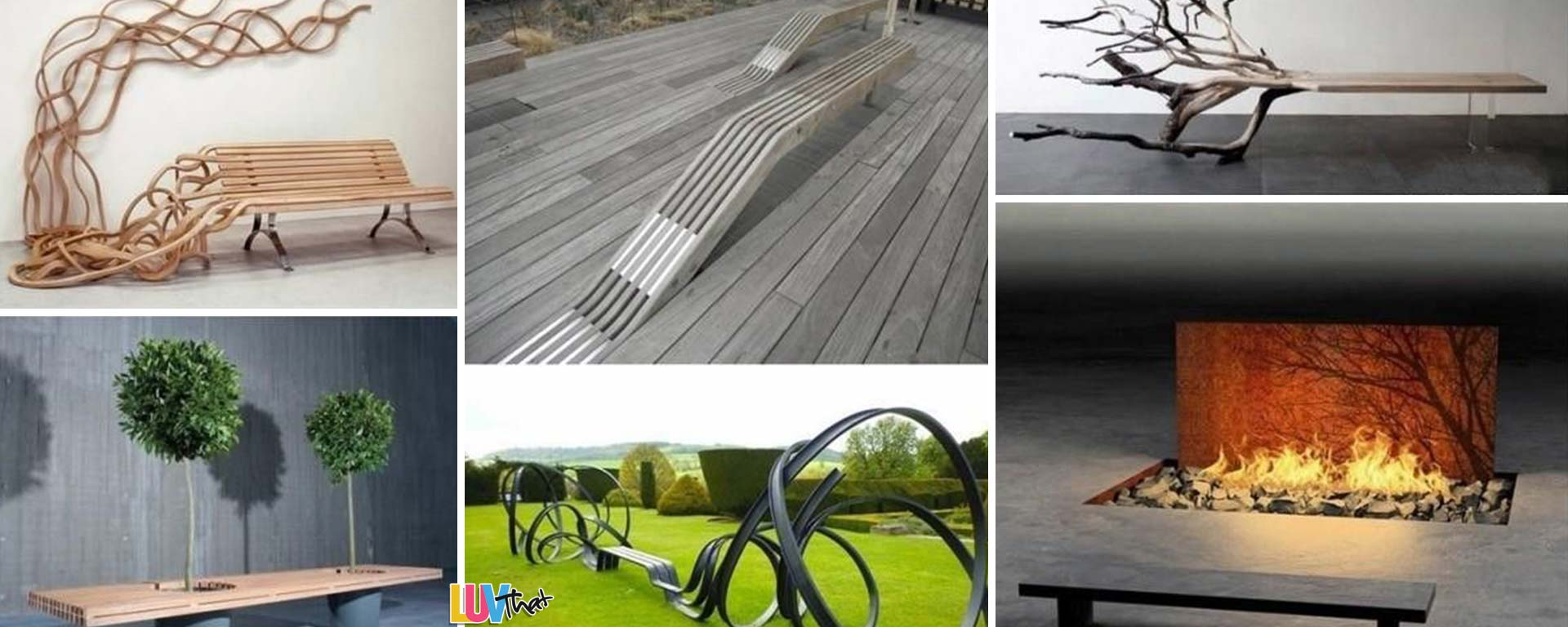Beautiful Benches Outdoor and indoor benches
