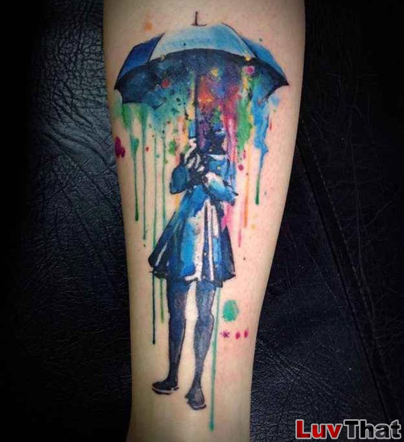Tato Art Styles: 25 Amazing Watercolor Tattoos