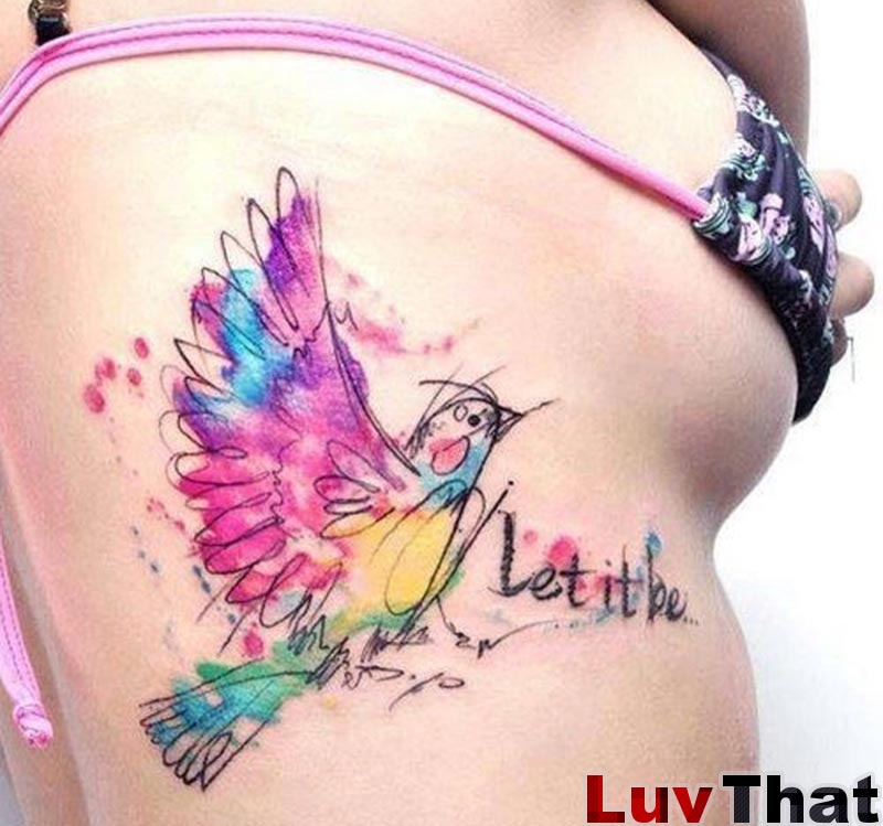 25 Amazing Watercolor Tattoos U2013 LuvThat