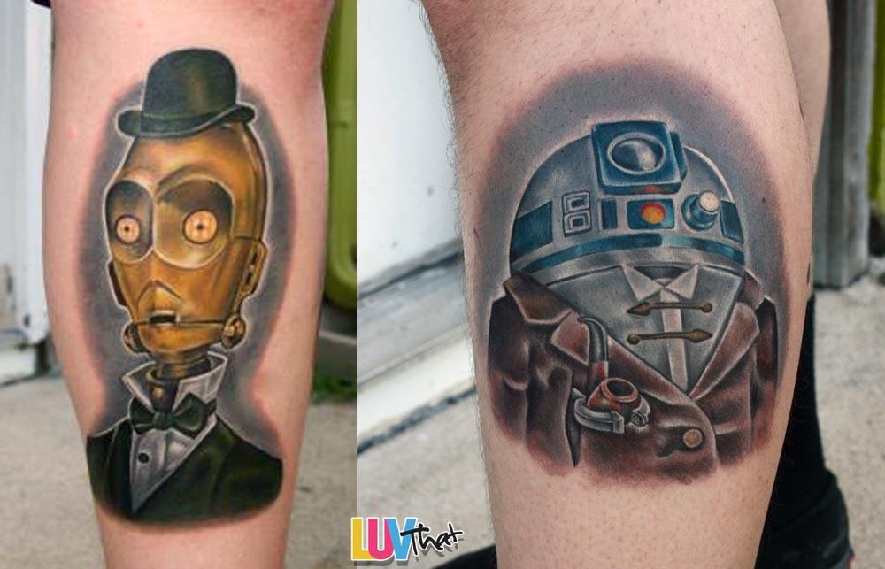 Storm Trooper Helmet Tattoo