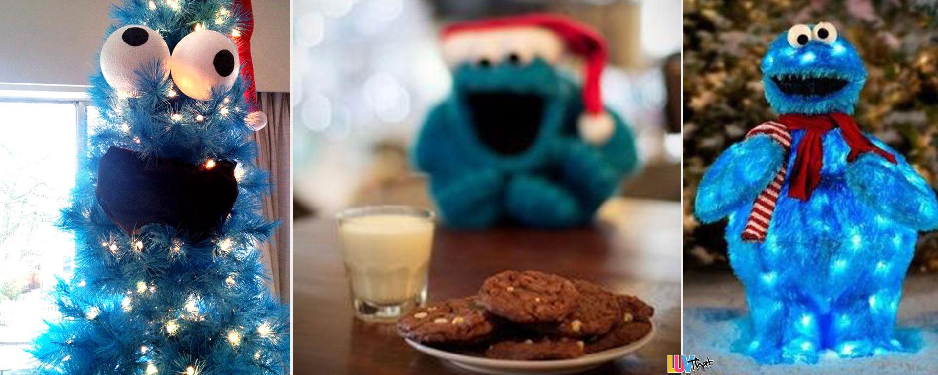 Cookie Monster Christmas