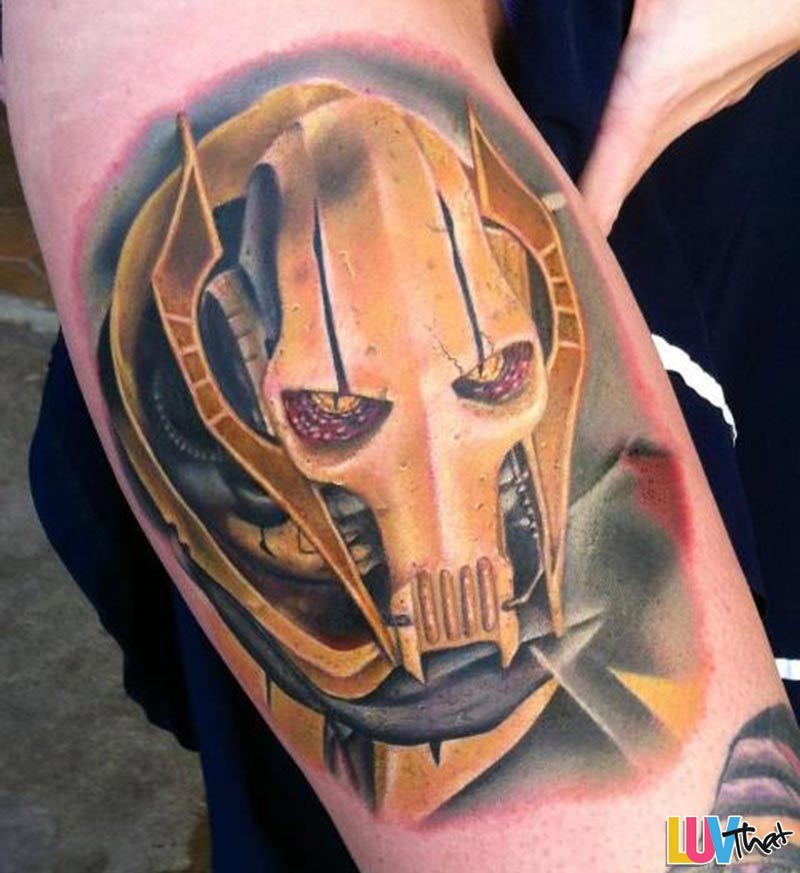 Awesome star wars tattoos luvthat for What do i put on a new tattoo