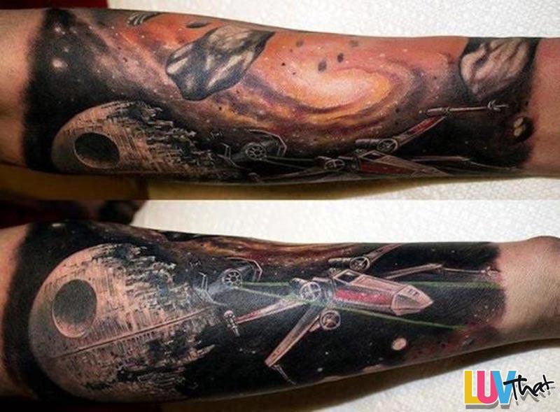 StarWars Sleeve tattoo