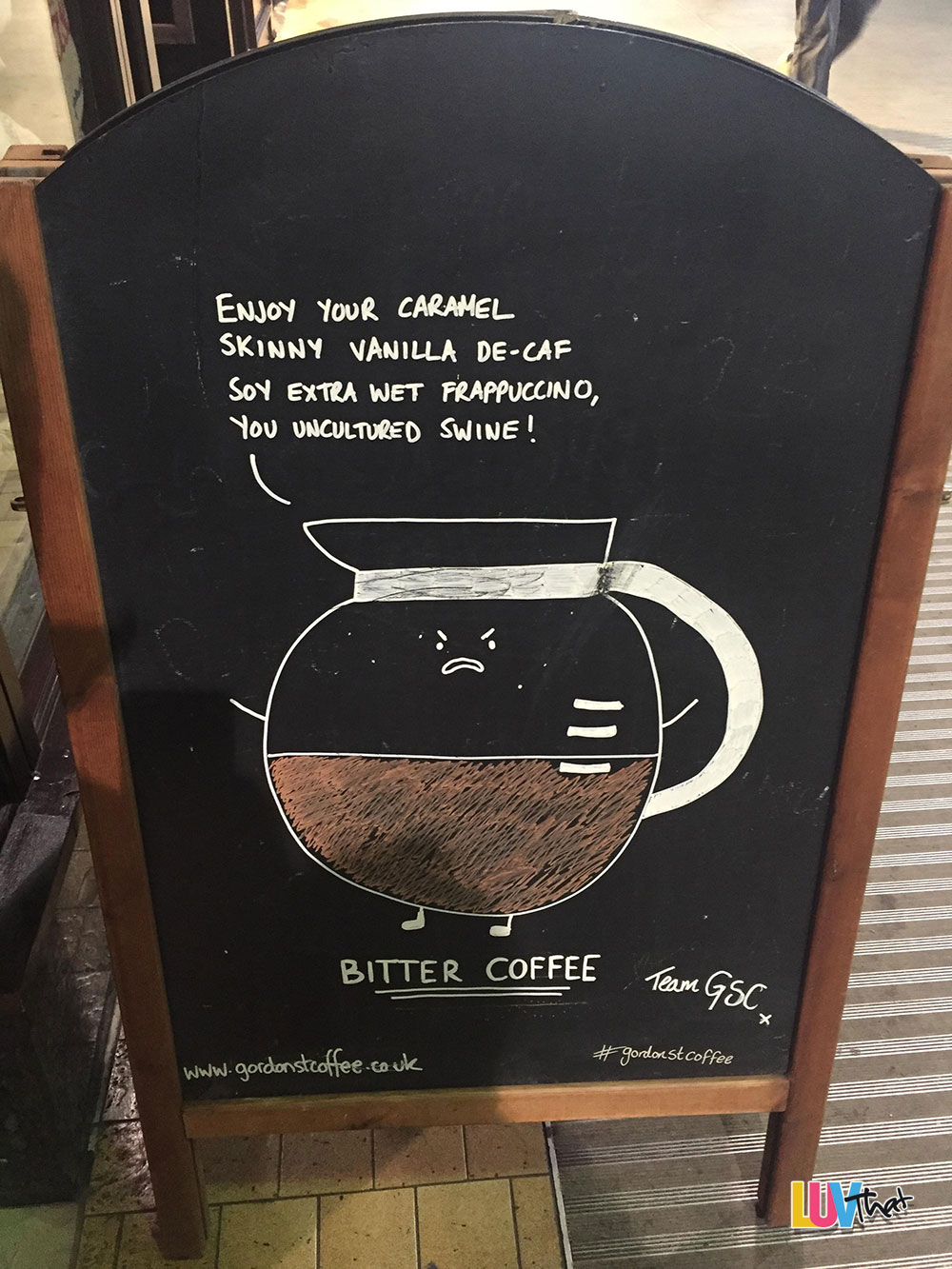 funny bitter coffee