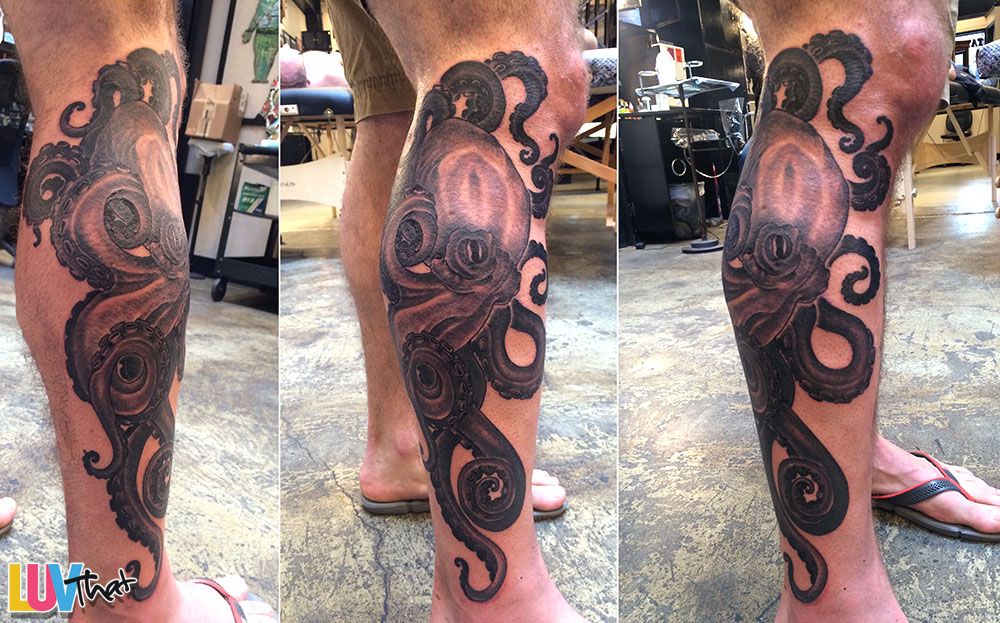 24 amazing octopus tattoos � luvthat