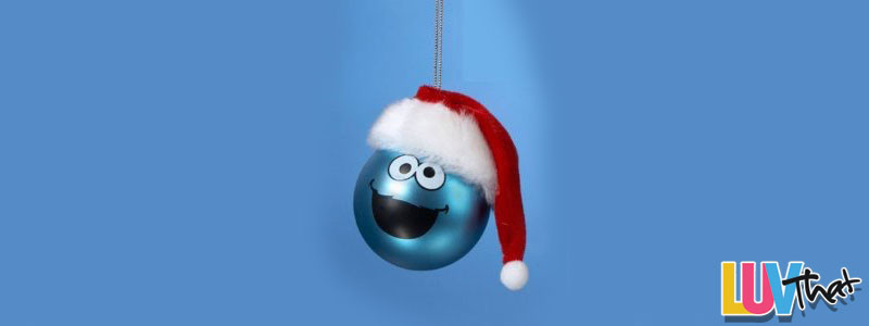 A Cookie Monster Christmas Luvthat