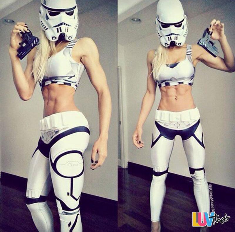 super fit storm trooper