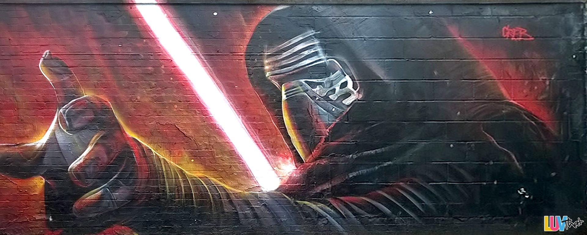 featured Perspective adjusted starwars Kylo-Ren mural