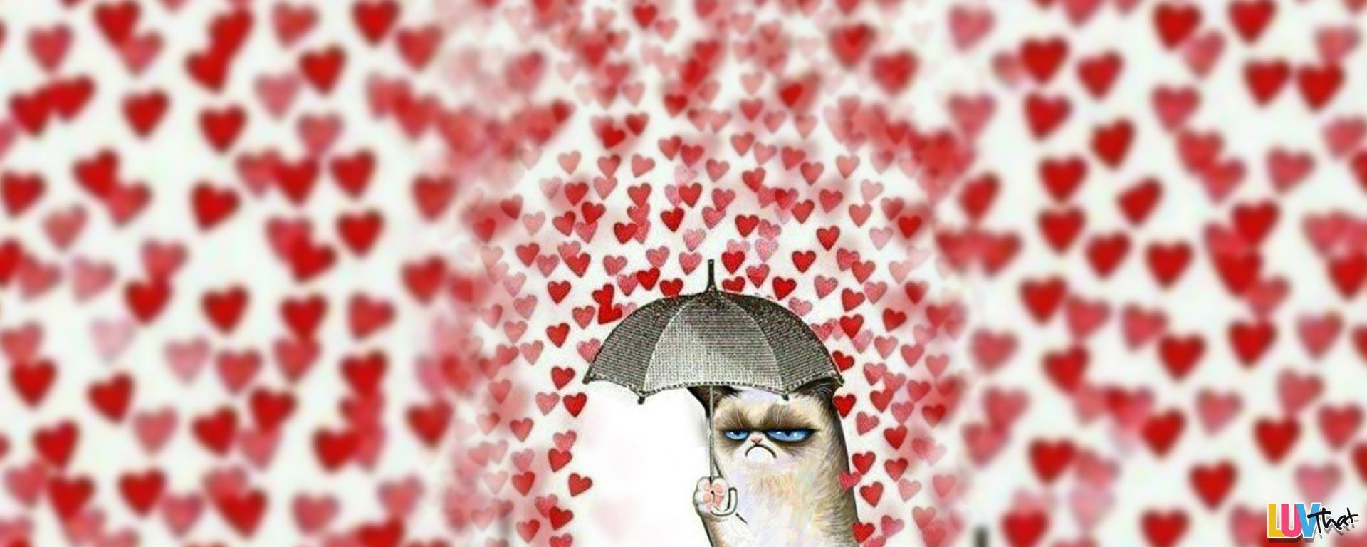 grumpy cats valentines day