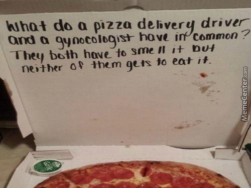 Bad pizza Jokes