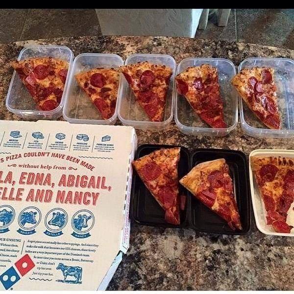 Meal Prep Pizza