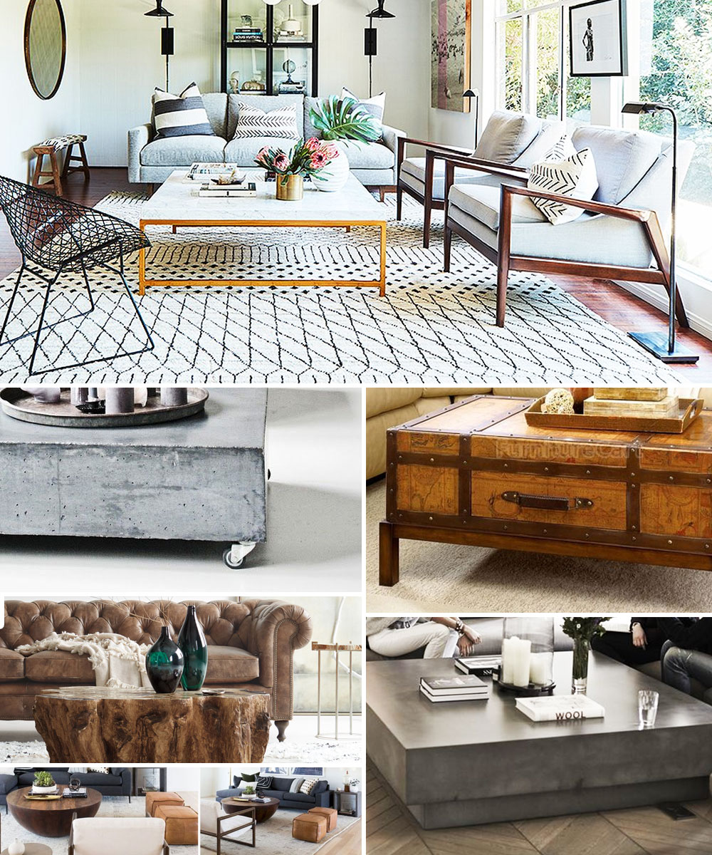 9 Coffee Table Styles To Make Your Living Room Really