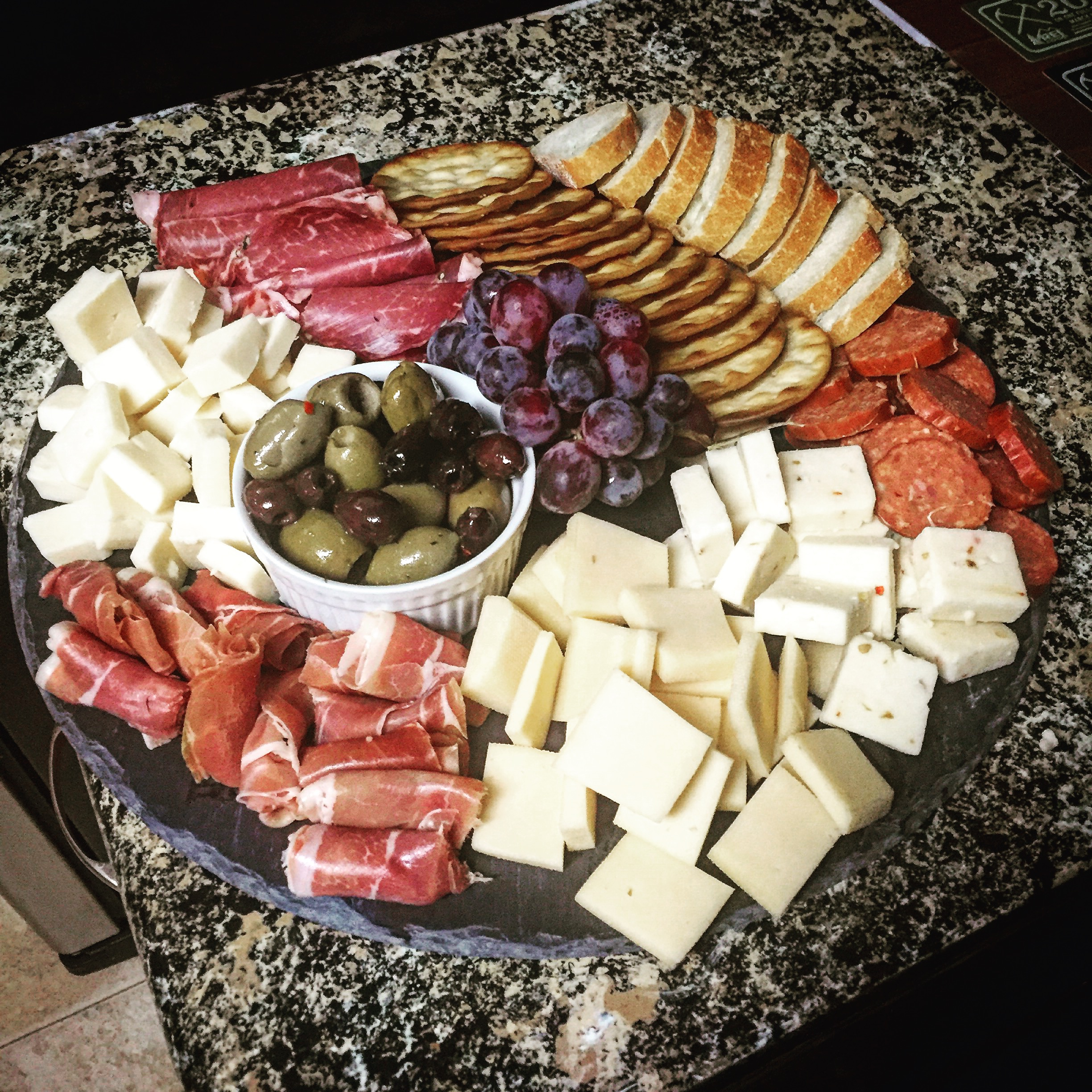 Charcuterie cheese Plate