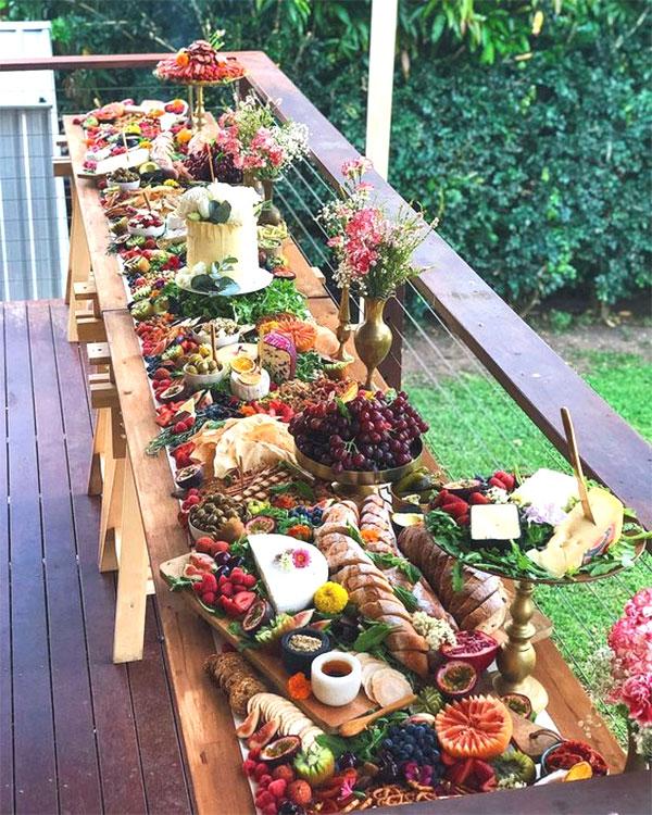 Charcuterie Table Spread