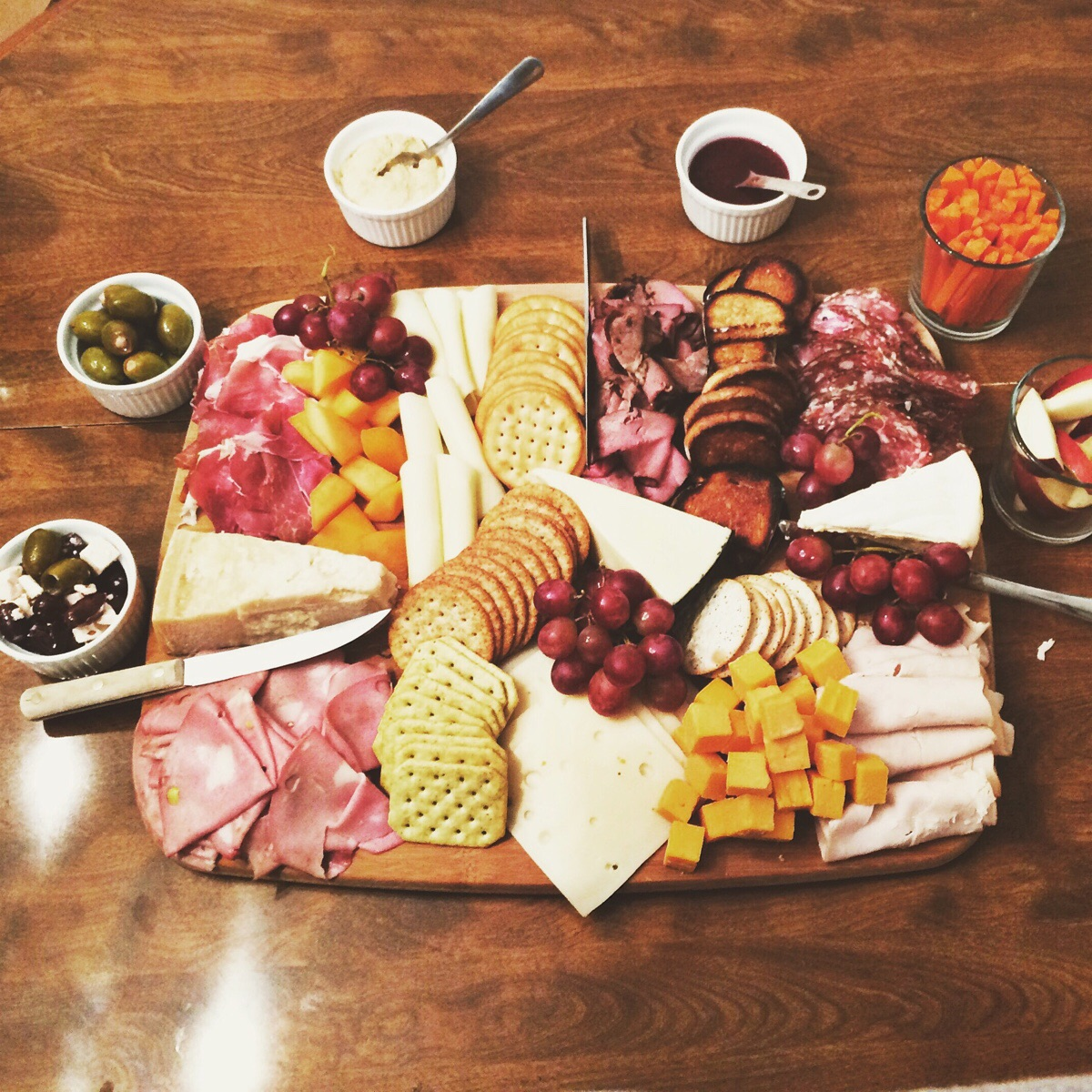 Charcuterie and Sauces
